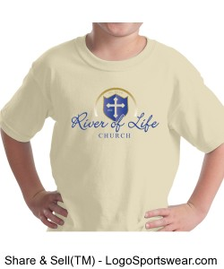 River of Life Youth T-shirt Design Zoom